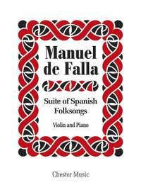Manuel de Falla: Suite Populaire Espagnol