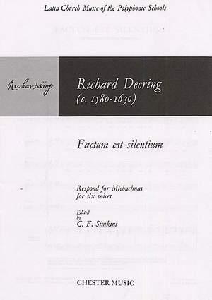 Richard Dering: Factum Est Silentium