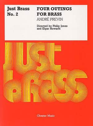André Previn: Four Outings For Brass