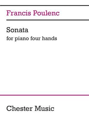 Francis Poulenc: Sonata For Piano 4 Hands