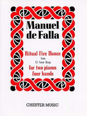 Manuel de Falla: Ritual Fire Dance (El Amor Brujo) For 2 Pianos