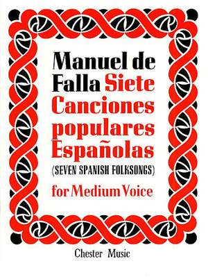 Manuel de Falla: Canciones Populares Espanolas(7)
