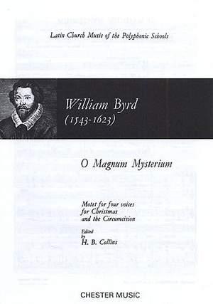 William Byrd: O Magnum Mysterium