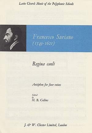 Francesco Suriano: Regina Caeli