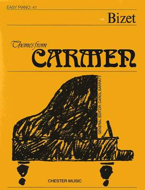 Georges Bizet: Themes From Carmen (Easy Piano No.41)