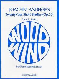 Joachim Andersen: Twenty-Four Short Studies Op.33 For Flute Solo