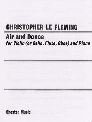 Christopher Le Fleming: Air And Dance (Treble Clef)