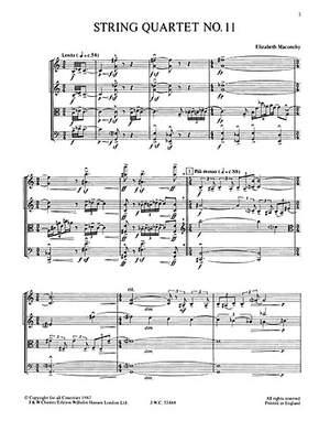 Elizabeth Maconchy: String Quartet No.11