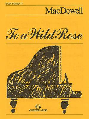Edward MacDowell: To a Wild Rose (Easy Piano No.17)