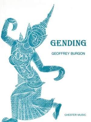 Geoffrey Burgon: Gending (Full Score)