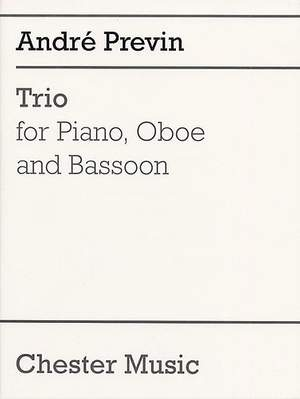 André Previn: Trio For Piano, Oboe and Bassoon