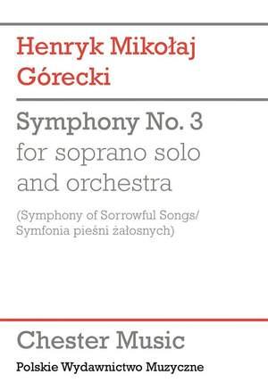 Henryk Mikolaj Górecki: Symphony No.3 (Symphony of Sorrowful Songs)