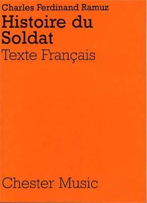 Igor Stravinsky: Histoire Du Soldat (French Libretto)