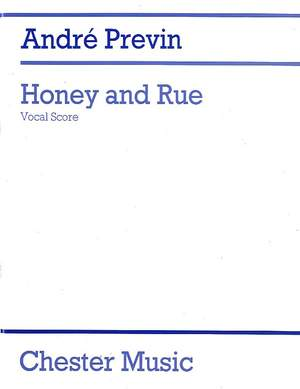 André Previn: Honey And Rue