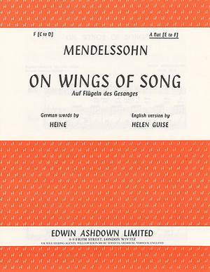 Felix Mendelssohn Bartholdy: On Wings Of Song Op. 34 No. 2