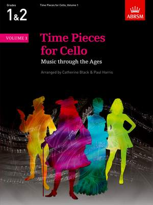Catherine Black: Time Pieces for Cello, Volume 1