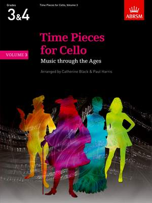 Catherine Black: Time Pieces for Cello, Volume 3
