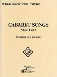 Arnold Weinstein_William Bolcom: Cabaret Songs Volumes 1 and 2