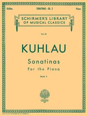 Friedrich Kuhlau: Sonatinas - Book 2