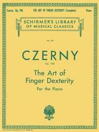 Carl Czerny: The Art Of Finger Dexterity Op.740