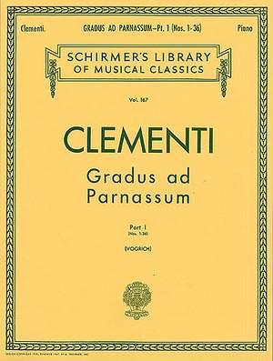 Muzio Clementi: Gradus Ad Parnassum - Book 1