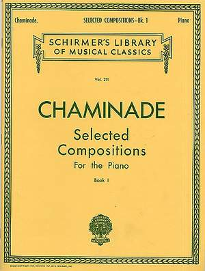 Cécile Chaminade: Selected Compositions (17 Pieces) - Book 1