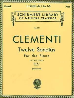 Muzio Clementi: 12 Sonatas - Book 1 Product Image