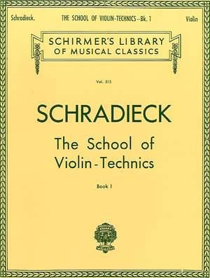 Henry Schradieck: School of Violin Technics - Book 1