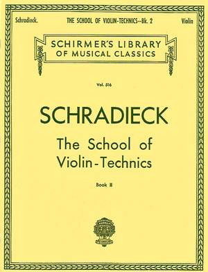 Henry Schradieck: School of Violin Technics - Book 2