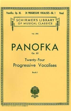 Heinrich Panofka: 24 Progressive Vocalises, Op. 85 - Book 1