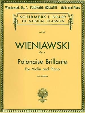 Henryk Wieniawski: Polonaise Brillante, Op. 4