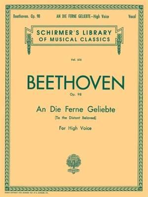 Ludwig van Beethoven: An Die Ferne Geliebte