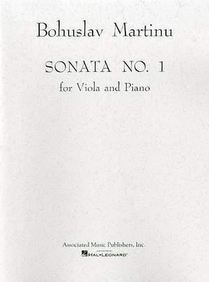 Bohuslav Martinu: Sonata No.1