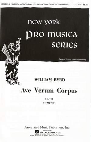 William Byrd: Ave Verum Corpus
