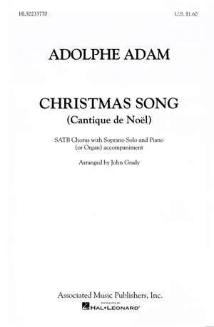 A. Adam: Christmas Song (Vocal Score)