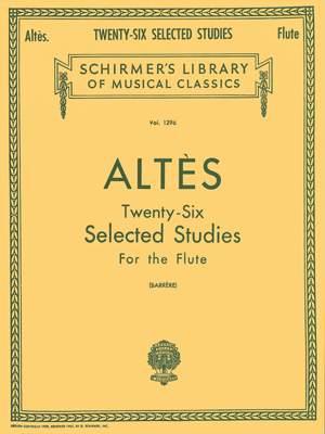 Joseph-Henri Altès: Twenty-Six Selected Studies
