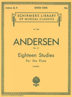 Joachim Andersen: Eighteen Studies