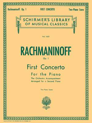 Sergei Rachmaninov: First Concerto for the Piano in F# Minor, Op. 1