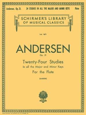 Joachim Andersen: Twenty-Four Studies, Op. 21