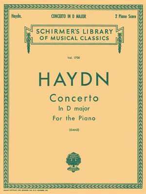 Franz Joseph Haydn: Piano Concerto In D