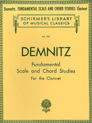 Friedrich Demnitz: Fundamental Scale and Chord Studies