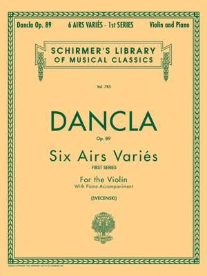 Charles Dancla: 6 Airs Variés Opus 89
