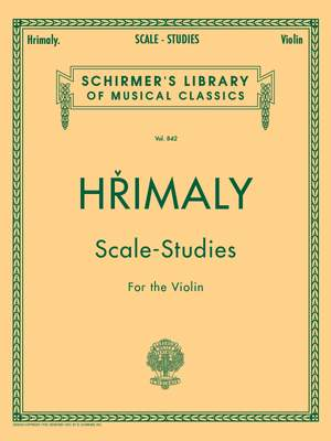 Johann Hrimaly: Hrimaly - Scale Studies for Violin Product Image