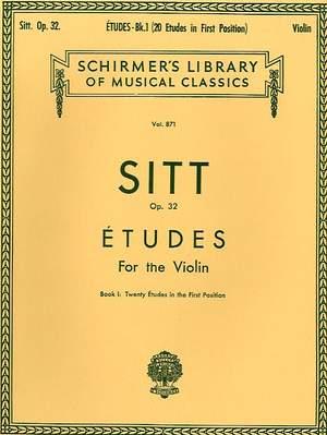 Hans Sitt: Etudes, Op. 32 - Book 1