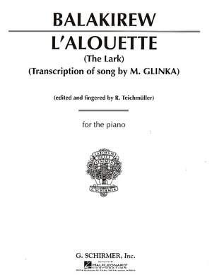 Mili Aleksejevitsj Balakirev: L'Alouette (The Lark)