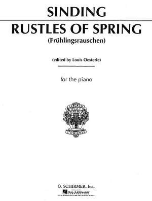 Christian Sinding: Rustles of Spring, Op. 32, No. 3
