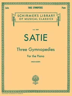 Erik Satie: Three Gymnopedies For The Piano Product Image