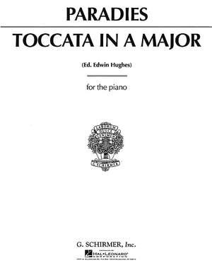 Pietro Domenico Paradisi: Toccata in A Major Product Image