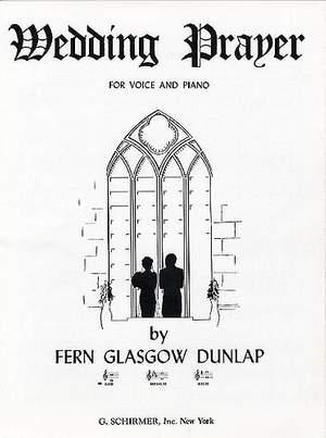 Fern Glasgow Dunlap: Wedding Prayer