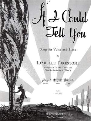I Firestone: If I Could Tell You